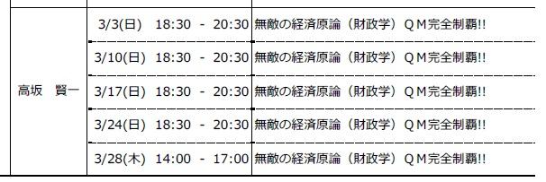 3月高坂HRスケ
