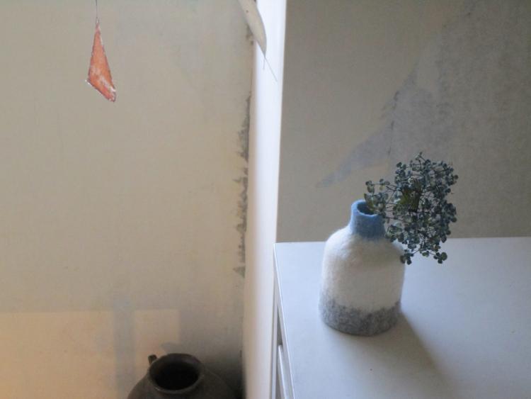 関聡子/フェルトの花器、宮下香代/モビール