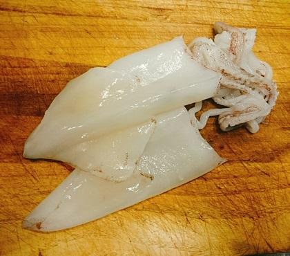 味吉陽一特製イカのドライカレー詰め11