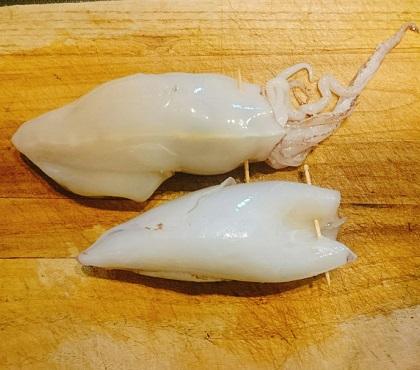 味吉陽一特製イカのドライカレー詰め16