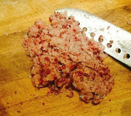 堺一馬特製豚肉抜きハンバーグ2