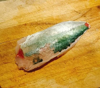 堺一馬特製豚肉抜きハンバーグ1