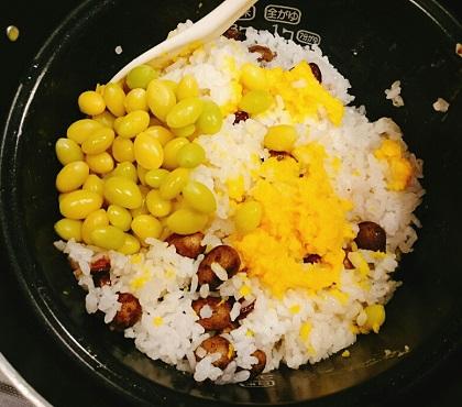 味吉陽一特製山の幸の混ぜご飯9