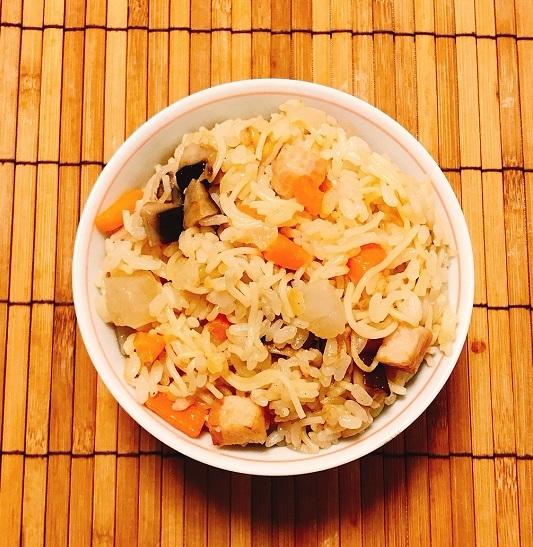 角切り具材のラーメン炊き込みご飯9