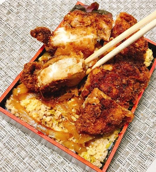 ふわふわ卵の鶏カツ弁当27