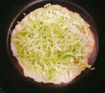 味吉陽一特製スペシャルお好み焼き11