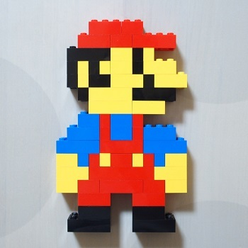 レゴでマリオ