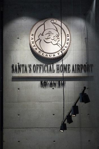 サンタクロースの空港