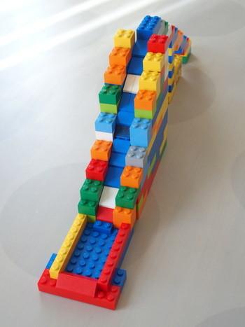 レゴでウォータースライダー