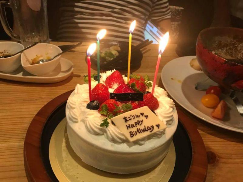 誕生日に沢山の方からお祝いのメッセージを頂きました