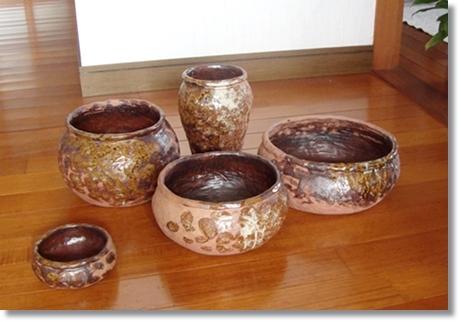 陶芸壺シリーズ2019