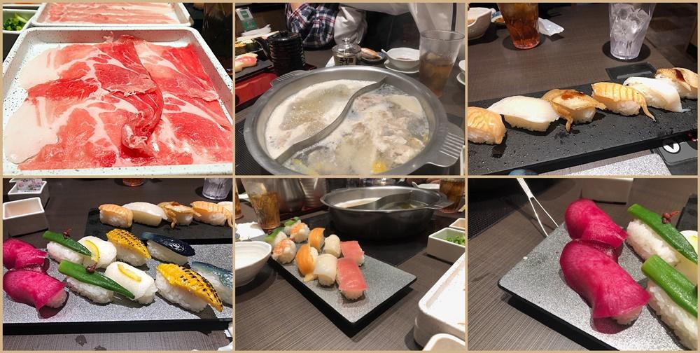 しゃぶしゃぶとお寿司