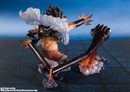 フィギュアーツZERO モンキー・D・ルフィ ギア4 -スネイクマン・王蛇-