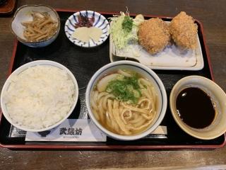 牛すじコロッケ定食
