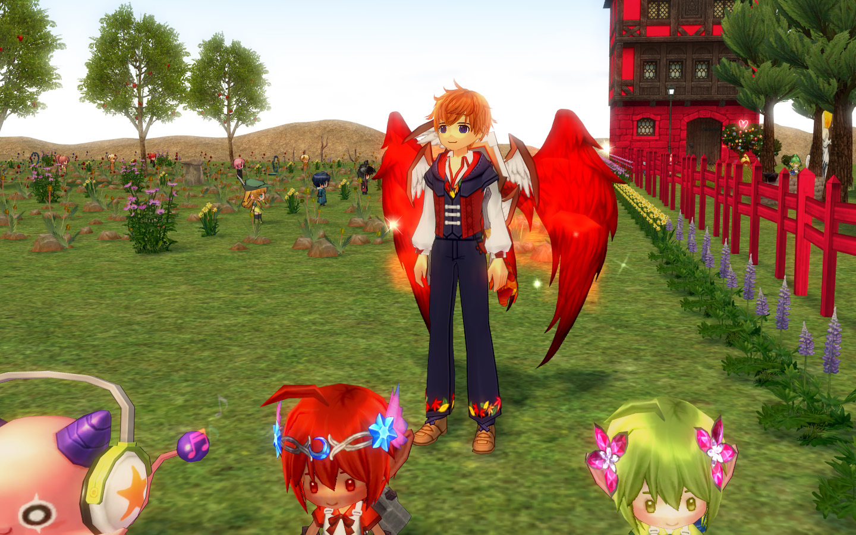 秋色の衣装1