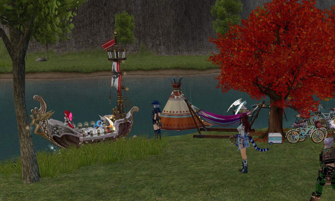 湖畔でキャンプ撮影会07