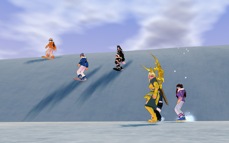 雪遊び撮影会08