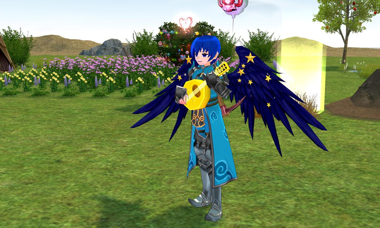 青のウィング
