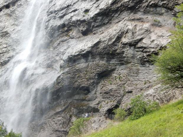 5日目シュタウフバッハの滝