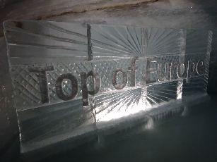5日目ユングフラウヨッホ氷の宮殿 (2)