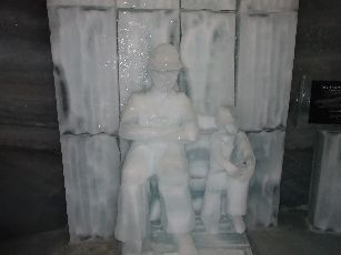 5日目ユングフラウヨッホ氷の宮殿 (4)