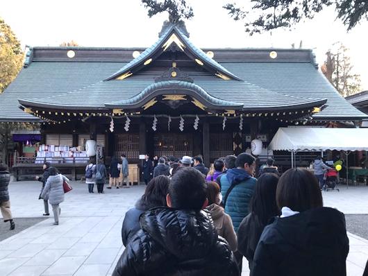大國魂神社初詣