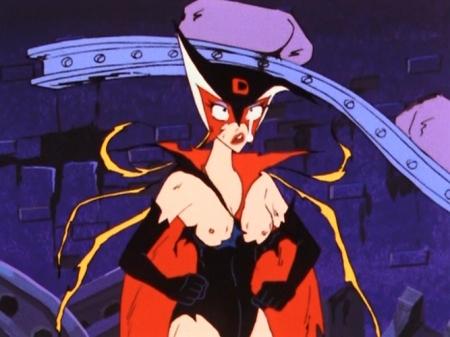ヤッターマン1977 ドロンジョの胸裸ヌード乳首142