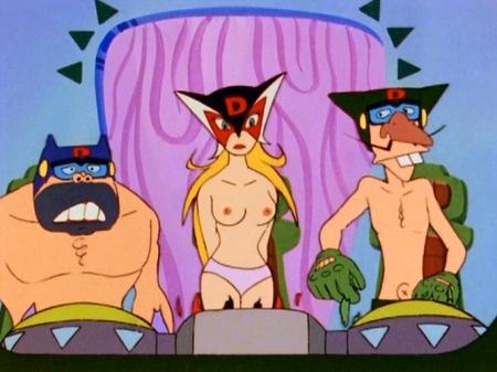 ヤッターマン1977 ドロンジョの胸裸ヌード乳首パンツ151