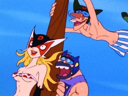 ヤッターマン1977 ドロンジョの胸裸ヌード下着姿ブラパンツ153