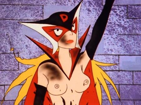 ヤッターマン1977 ドロンジョの胸裸ヌード乳首169