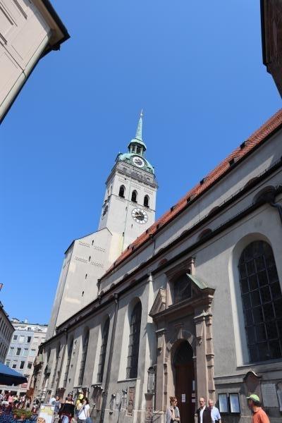 ミュンヘンの展望台(聖ぺーター教会)