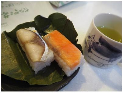 たなかの柿の葉寿司5