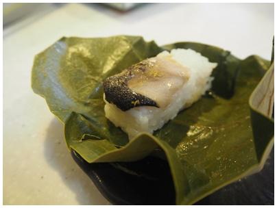 たなかの柿の葉寿司秋刀魚2
