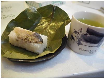 たなかの柿の葉寿司秋刀魚3