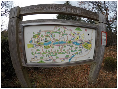 深山公園の地図