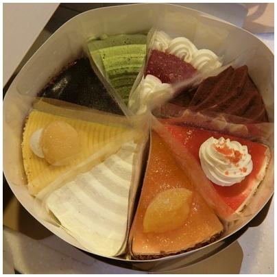銀座コージーコーナーケーキ1
