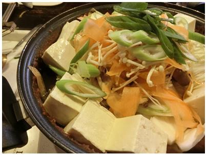 牡蠣の土手鍋2