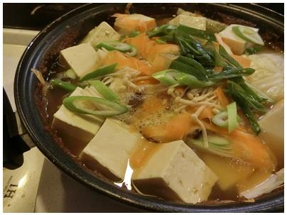 牡蠣の土手鍋3