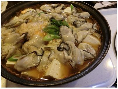 牡蠣の土手鍋4