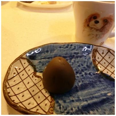 灸まんチョコ味1