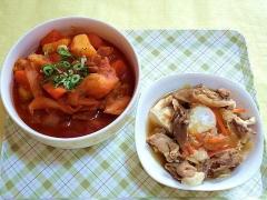 CAI_181129_5337 コチュジャンの肉じゃが・すき焼き風肉豆腐_VGA