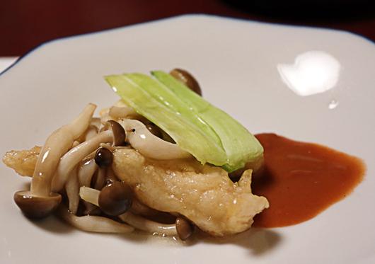 9_白身魚☆紅麹ソース