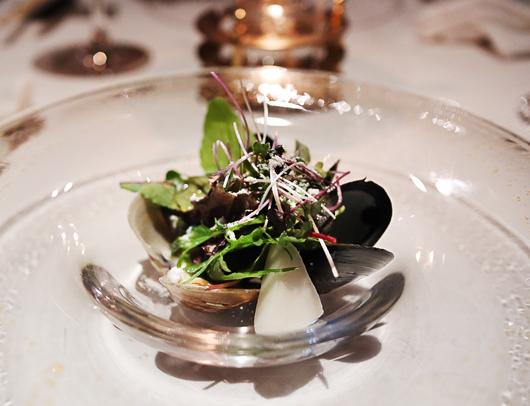 4_ムール貝とあさりのサラダ仕立て