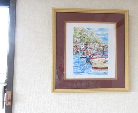 2 カプリ島の絵