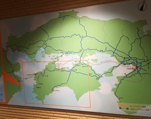 10 航路の図