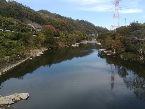 17 弁天橋上から大和川