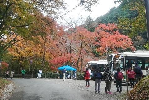 1 正暦寺のバス停