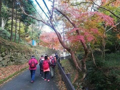 2 正暦寺の参道