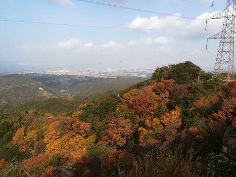 10 雲山峰手前の展望