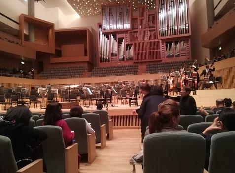9 京都コンサートホール・内部